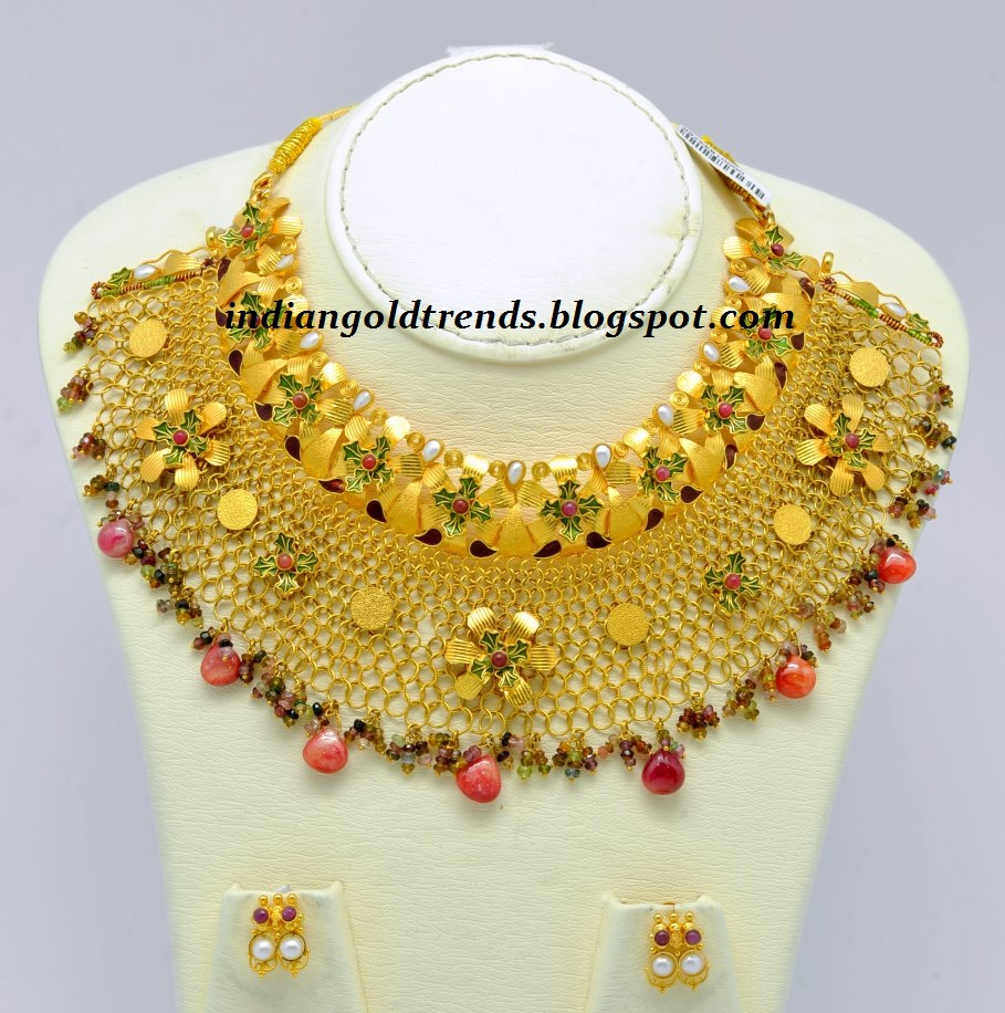 Remarkable Kalyan Jewellers Gold Necklace Design 909 x 916 · 263 kB · jpeg