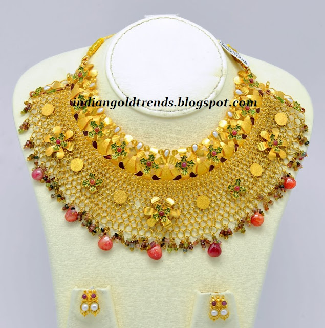 Gold Jewelry Design Necklaces