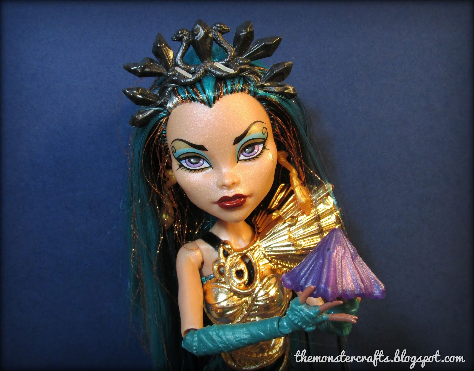 Monster crafts doll review boo york boo york nefera de nile - Nefera de nile ...