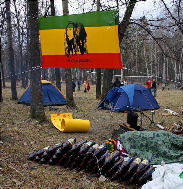 Полевской, Азов-гора, Майские праздники. 2008г.