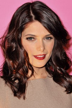 ashley greene dark red brown hair color