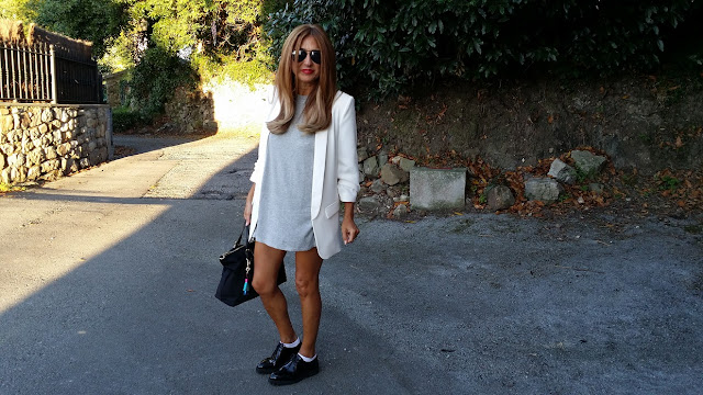 Dress, Shorts, Carmen Hummes Style, Isadora Comillas, Shopping bag, Zara, Blazer, Oxford