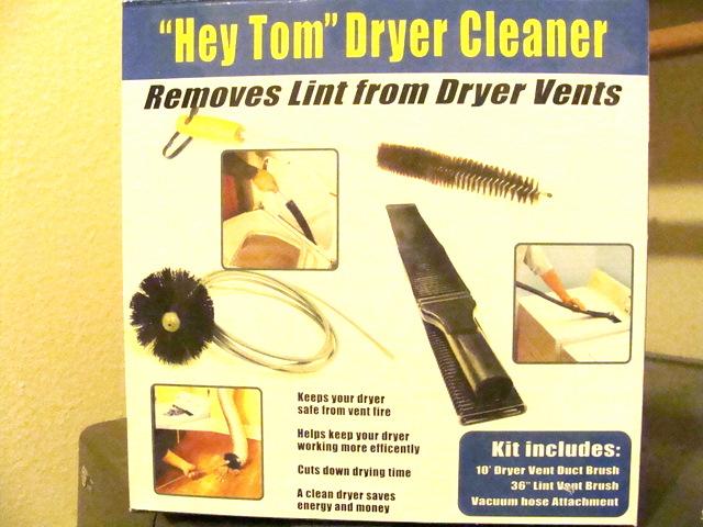 please clean deep inside your dryer vent now