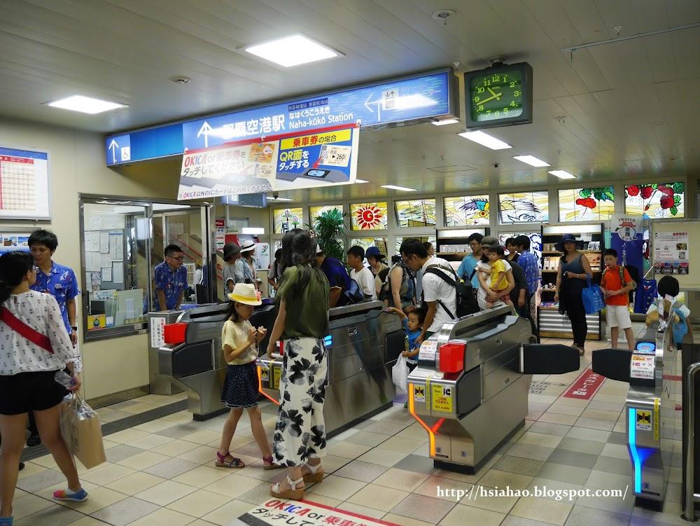 沖繩-交通-單軌電車-電車站-教學-自由行-旅遊-旅行-Okinawa-yui-rail- transport-train