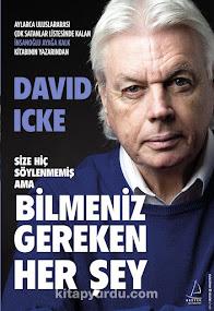 İkinci Türkçe David Icke kitabı çıktı!
