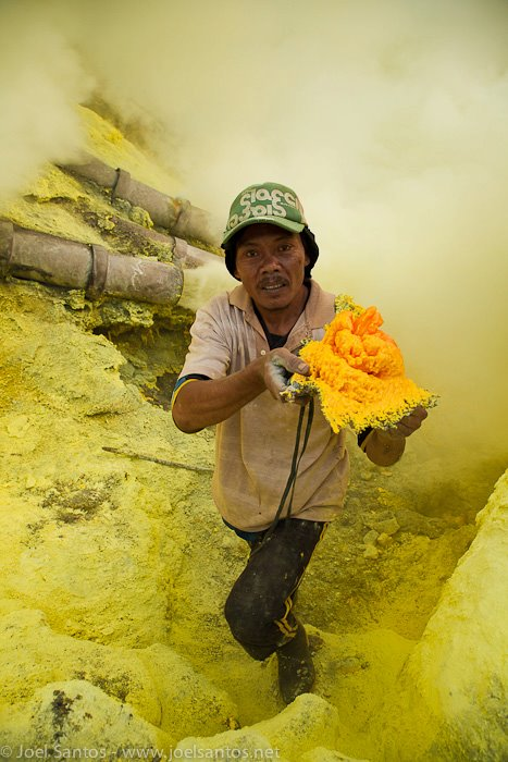 Incredible Jobs for Ijen Miners