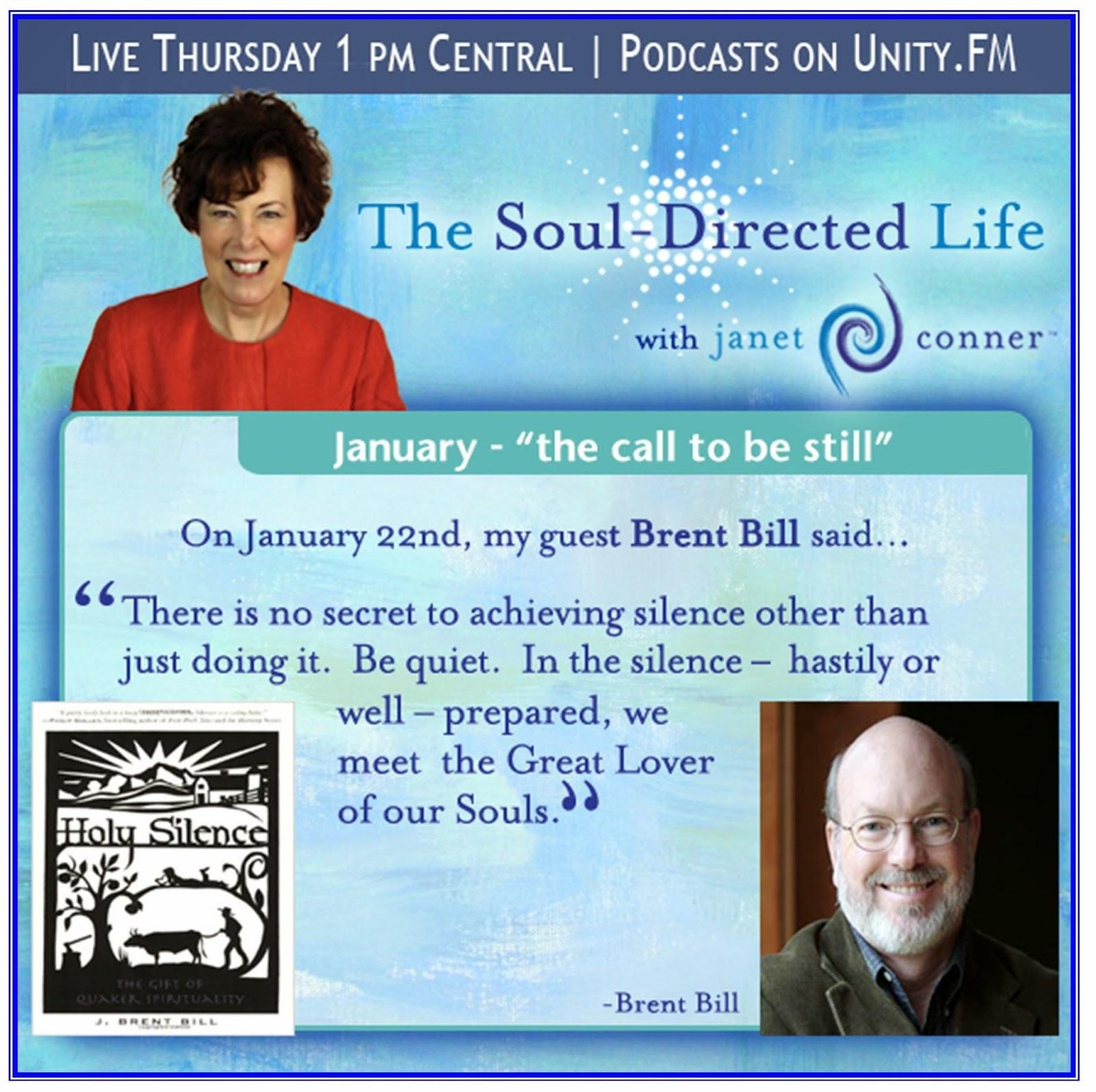... To listen, vist http://www.unity.fm/episode/TheSoulDirectedLife_012215