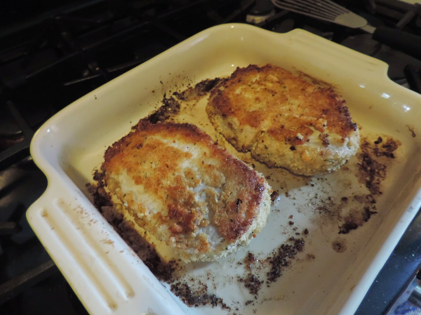 Then, Remove From The Oven, Flip The Chops,