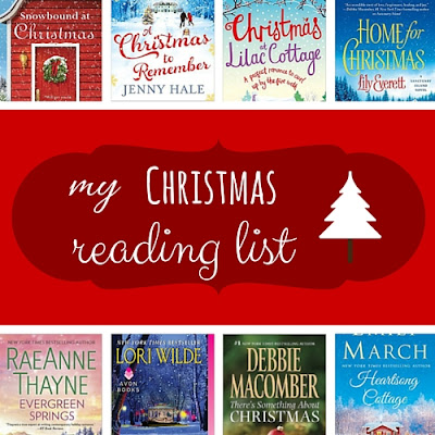 my christmas reading list