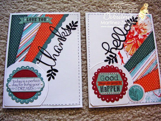 close up for cards for mom using petaloo and quick quotes