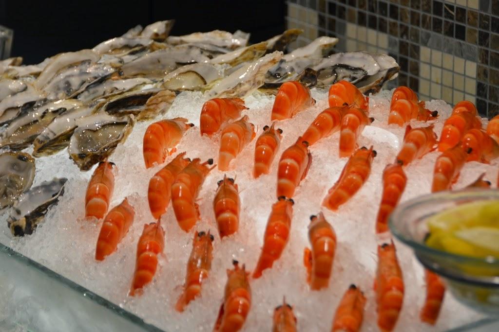 Restaurant Mosaic Kuala Lumpur shrimp oyster