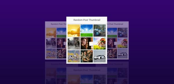 Cara Membuat Widget Random Post Hanya Gambar