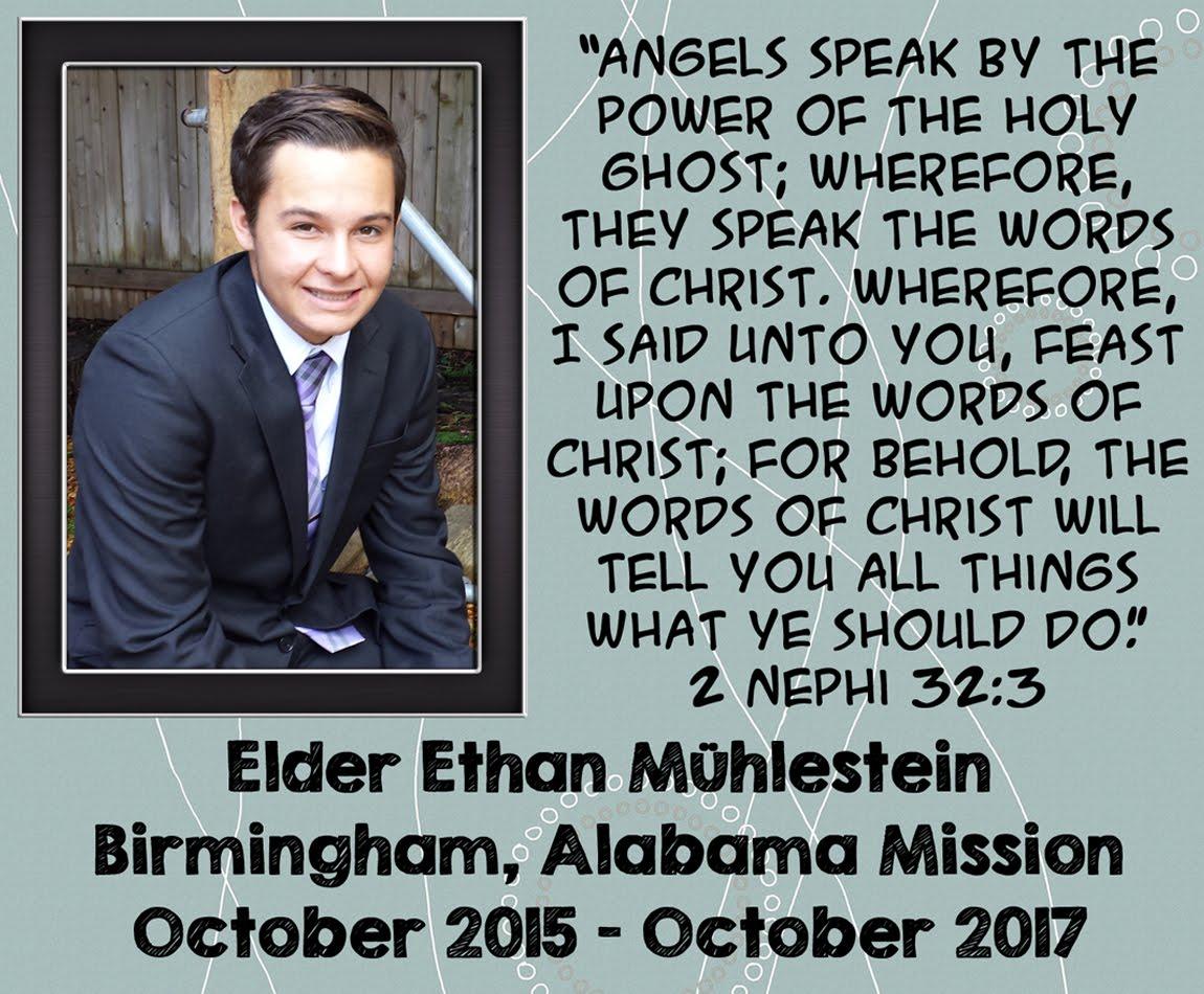 Elder Ethan Muhlestein