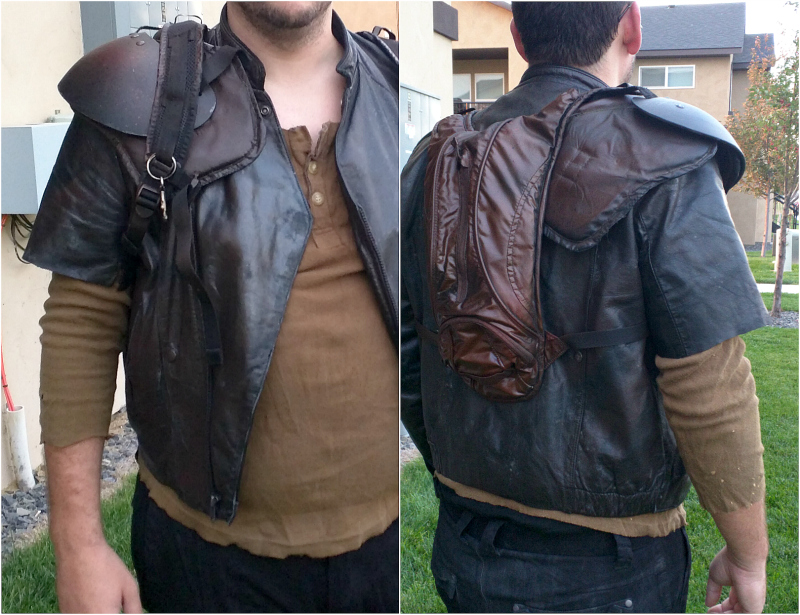 There you have it our adventure in making mad max s shoulder pad i