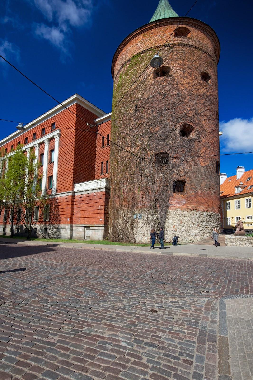 Пороховая башня, Рига, Латвия