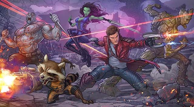 Guardians of the Galaxy Devianart