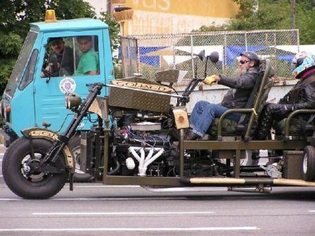 Design Modifikasi Motor Yang Super Unik Dan Aneh! [ www.BlogApaAja.com ]