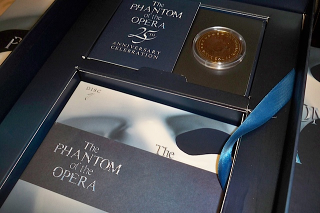 the phantom of the opera 25th anniversary edition