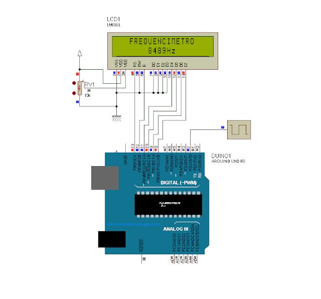 Arduino: Frequencímetro