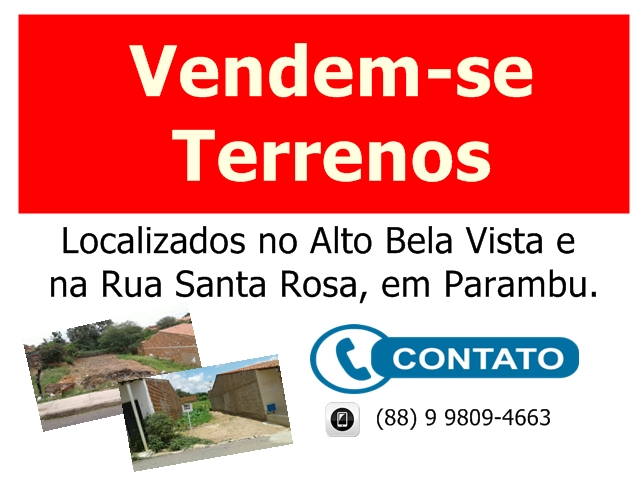 Vendem-se terrenos