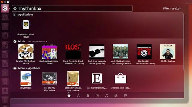 Smart Scopes vem por padrão no novo Ubuntu