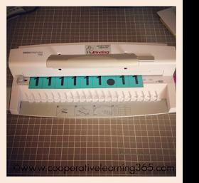 comb binding machine instructions