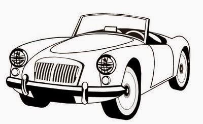 Desenhos para pintar Carros da Hot Wheels para