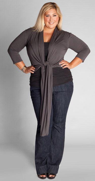 blusas de moda para gorditas amarrada a la cintura