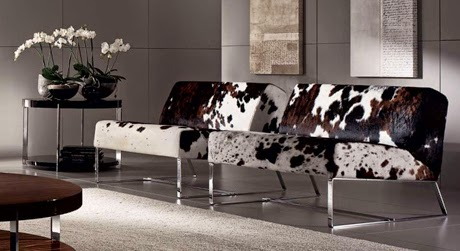 Leather furniture enhance the luxury feel of your home