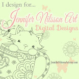 I Design For Jennifer Nilsson Art at Miss Daisy Stamps
