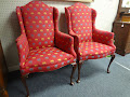 Pretty wing chairs