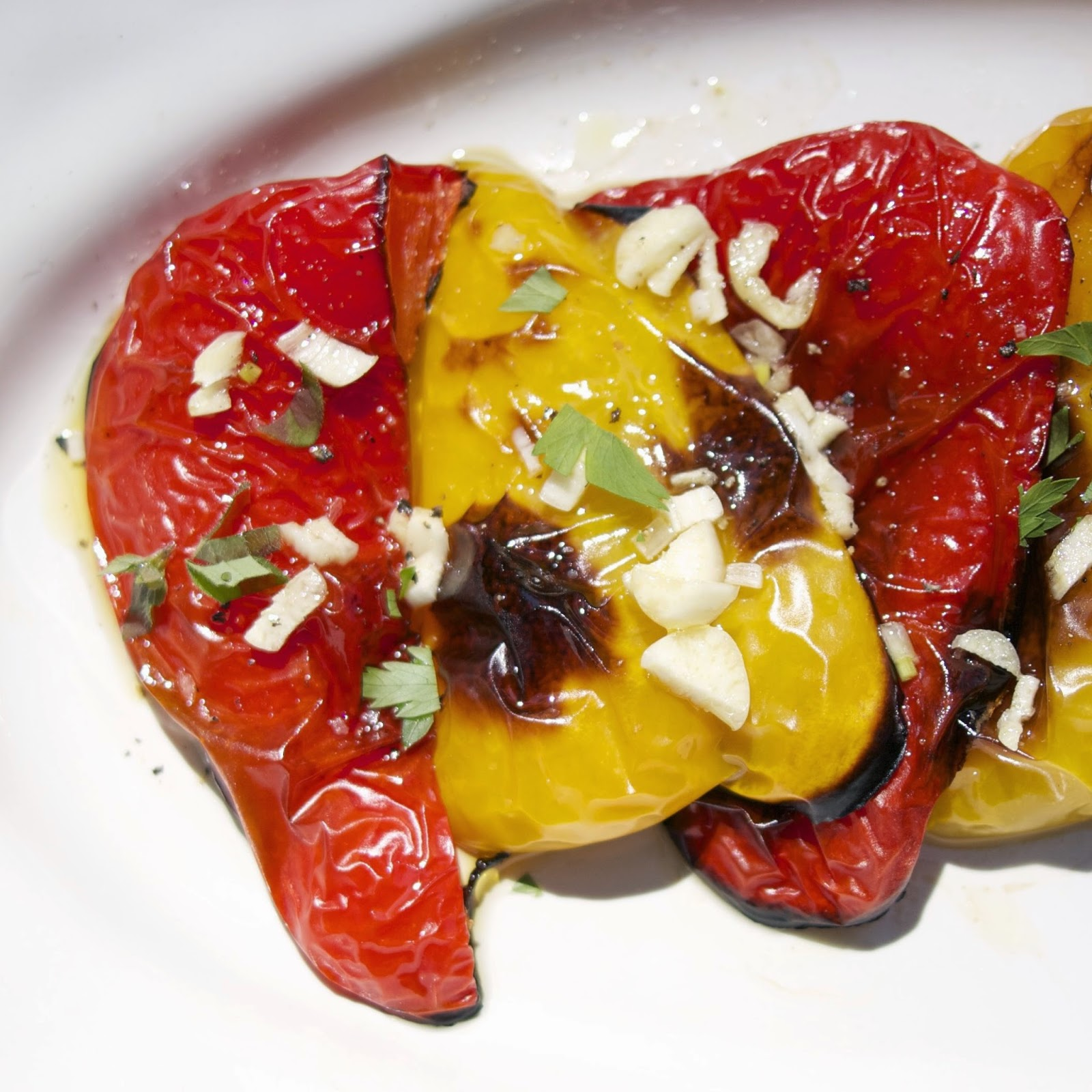 Roasted Peppers: simplelivingeating.com