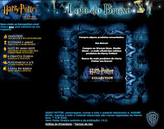 Vira-Tempo #3: Revisite o site oficial de 'Harry Potter e a Câmara Secreta' lançado em 2002 | Ordem da Fênix Brasileira