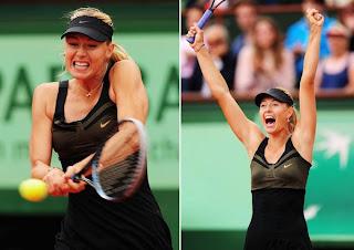 Maria Sharapova tuvo una dura final