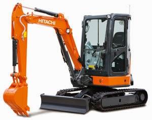 Hitachi Excavators ZX33U-5A