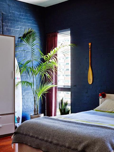 la fabrique d co peindre la chambre en noir ou en gris astuces et conseils pour r ussir. Black Bedroom Furniture Sets. Home Design Ideas