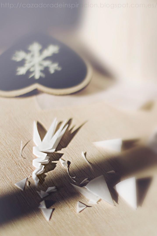 Paper snowflakes. Cazadora de inspiración © Anna Tykhonova