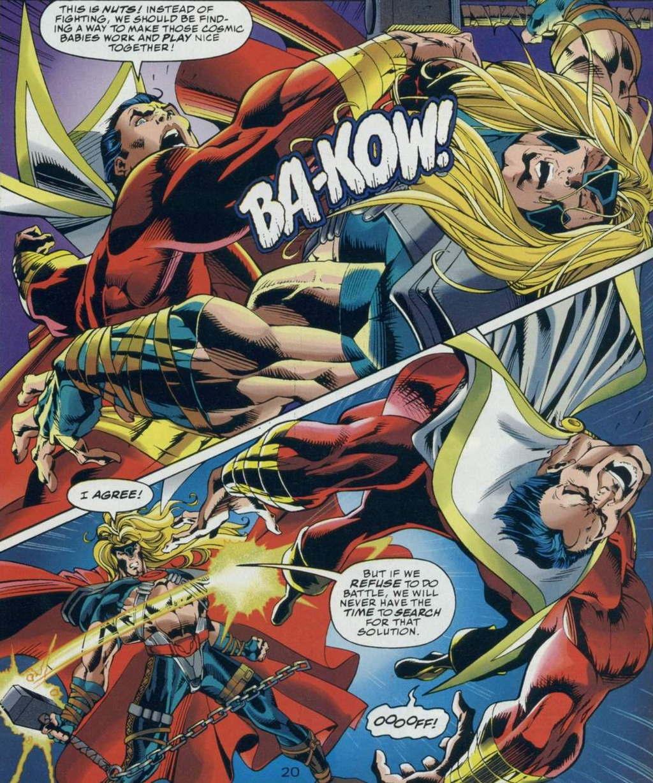 Marvel vs. DC!