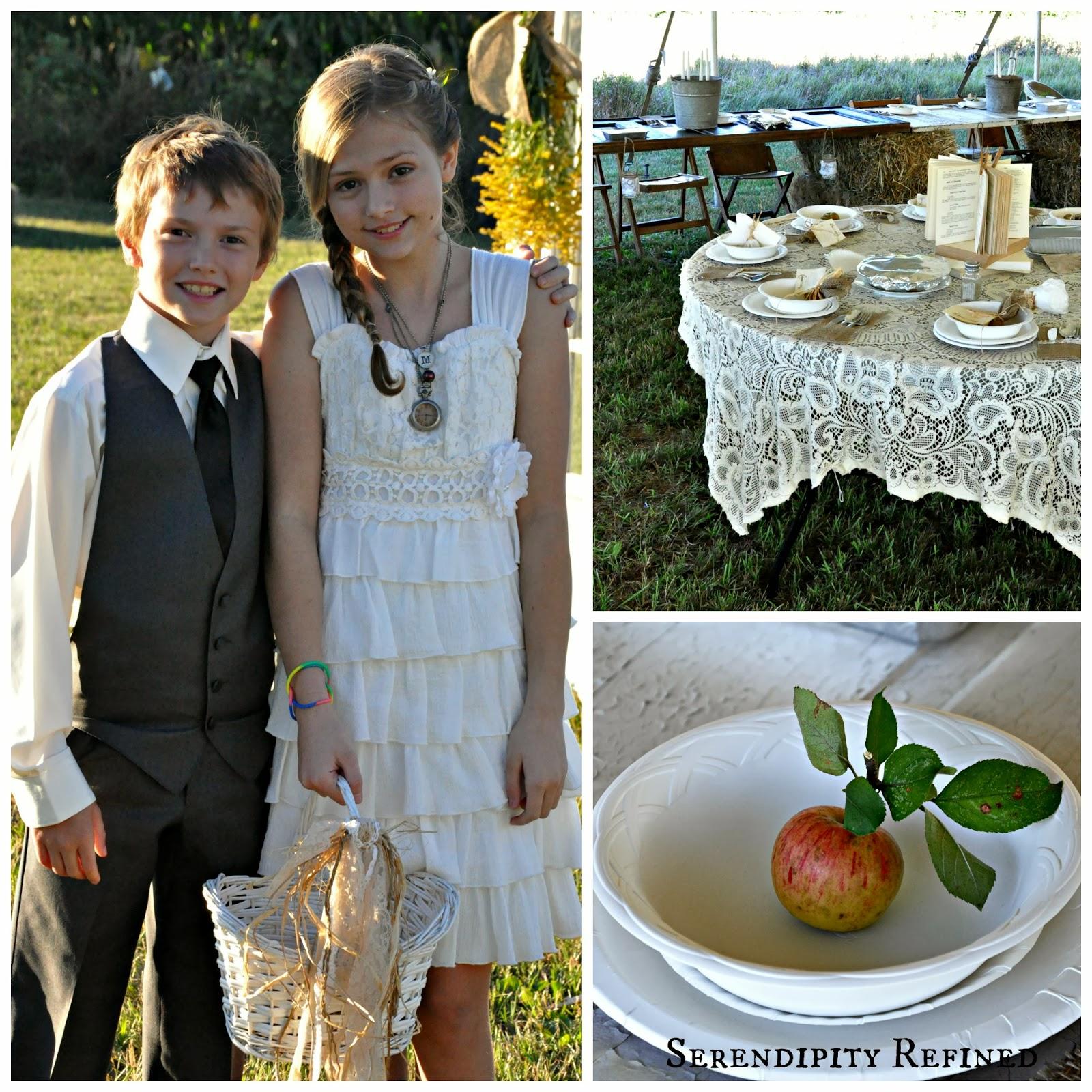 Serendipity Refined Blog: Vintage Farm Style Wedding