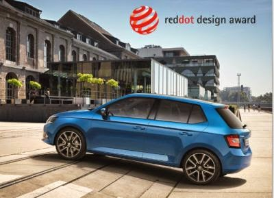 SKODA Fabia premiata cu 'Red Dot Award