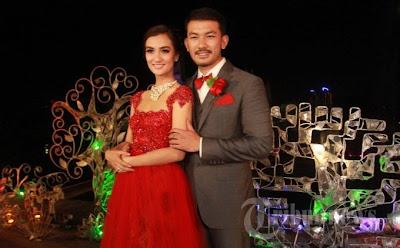Foto Rio Dewanto dan Atikah Hasiholan Menikah