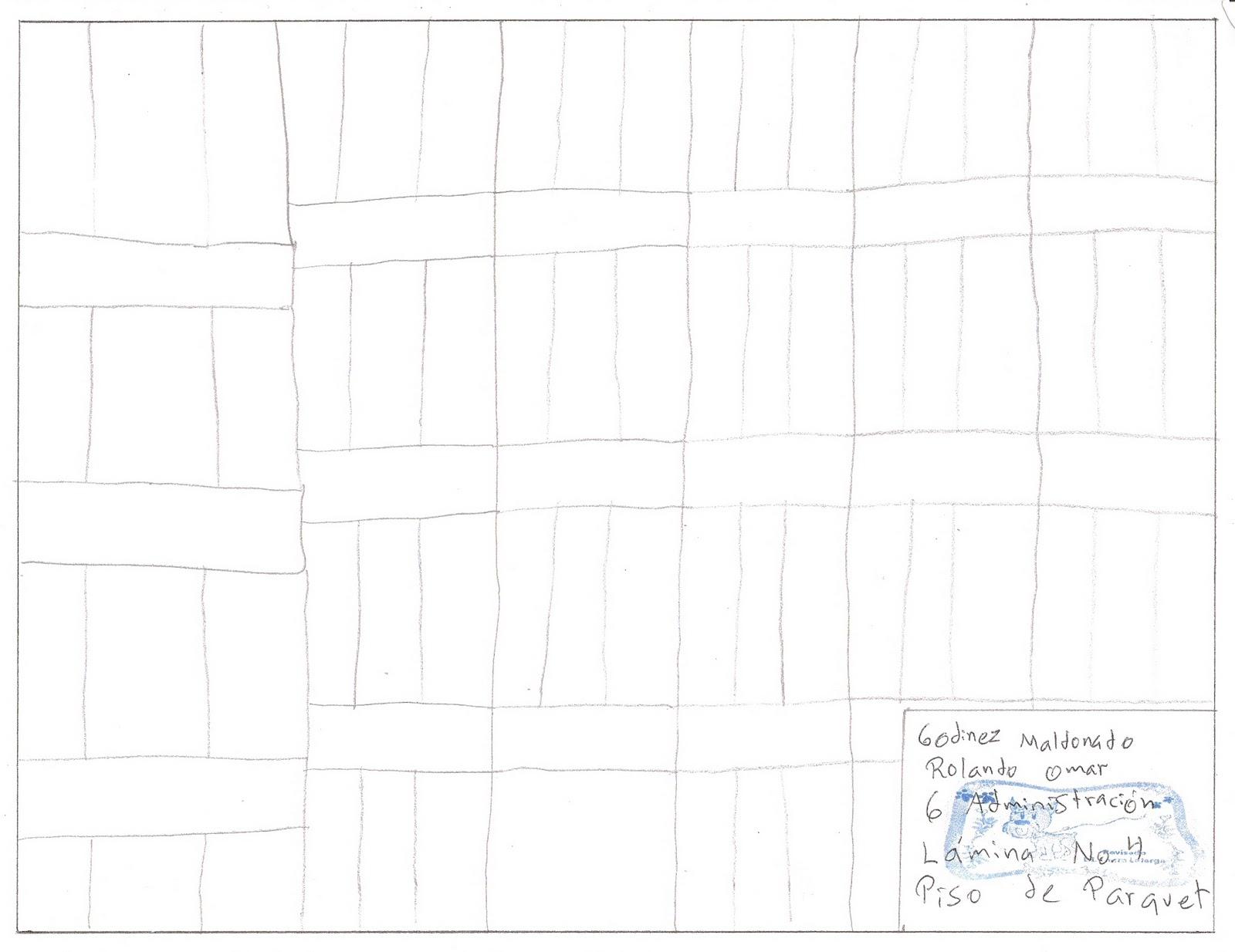 Dibujo tecnico admon l mina 4 piso de parquet - Laminas de parquet ...