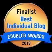 2013 EduBlog Finalist