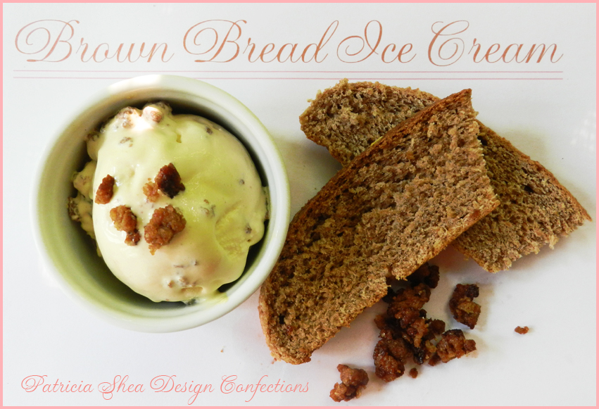 yes brown bread ice cream i have not made ice cream for the blog ...