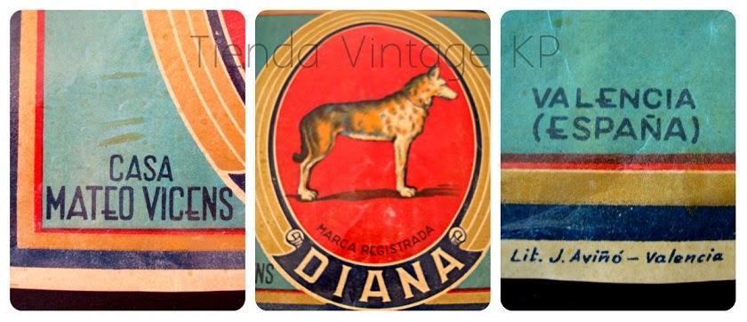 Carteles decoración vintage