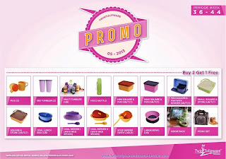 Promo Beli 2 Gratis Tulipware September - Oktober 2013