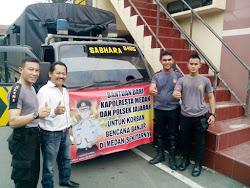 Polresta Medan Peduli Bencana Banjir, Ini Sumbangsihnya