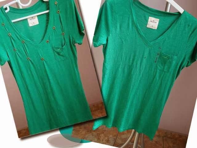 Blusa recuperada para uso: sem furos e com estilo personalizado