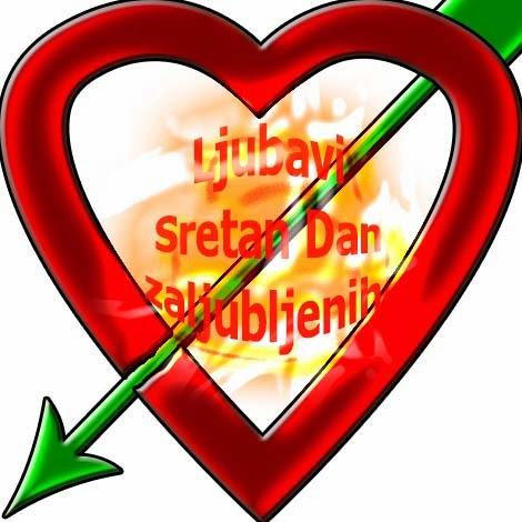 ljubavi sretan dan zaljubljenih