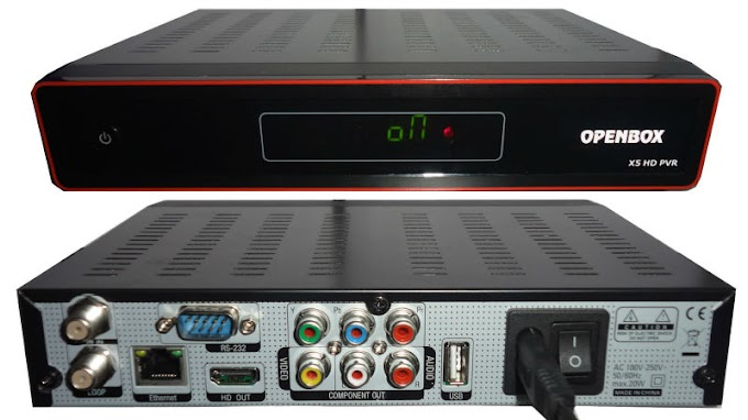 Nova atualizaçao openbox x5 - 19/04/2013